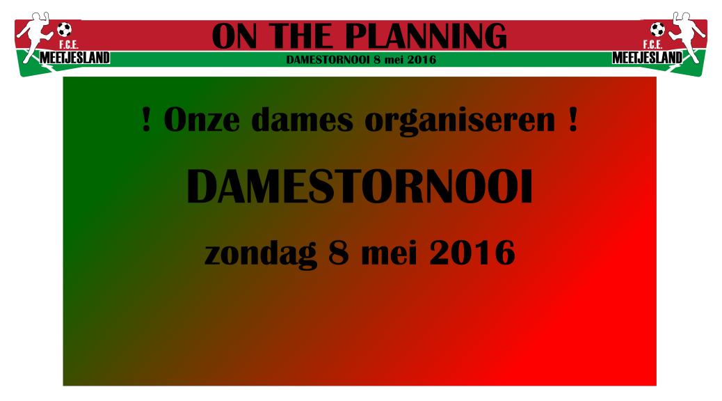 Damestornooi 2016
