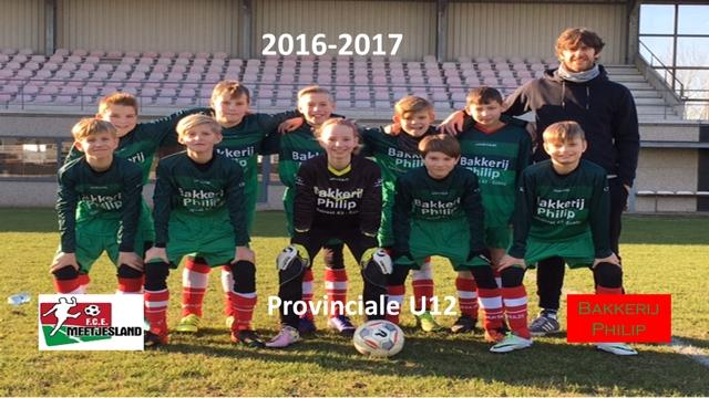 2016-2017 U12PROV